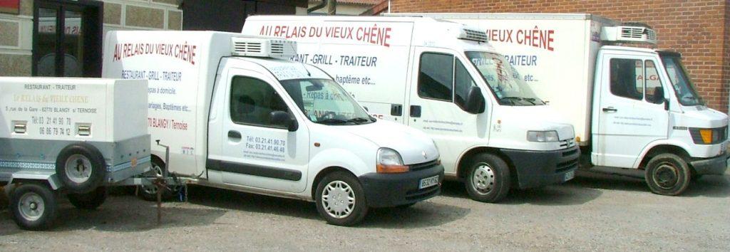 Vehicules - Traiteur Blangy sur ternoise